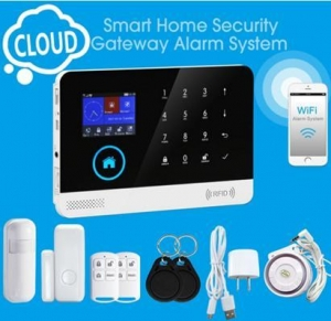 China GSM/3G+WIFI burglar alarm system HAK-GW103 on sale