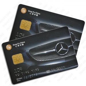 China Contact Smart Card Contact 4428 chip card on sale