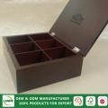 China OEM luxury glossy lacquered wooden gift box on sale