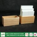 China Natural wood office table business card holder on sale