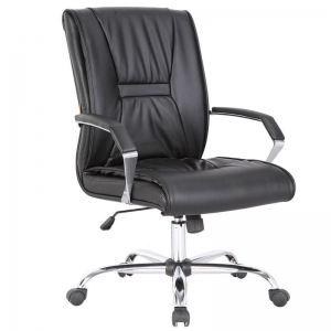 China KB-9627B Multi-functional Black Leather Office Chair/Modern Computer Office Furniture/Swivel Chair on sale