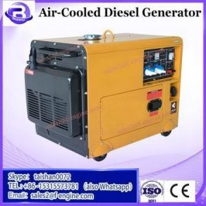 China 60dBA!!! Haiwe Air Cooled Electric Start 50/60Hz Single Phase Diesel Generator 5KW wholesale