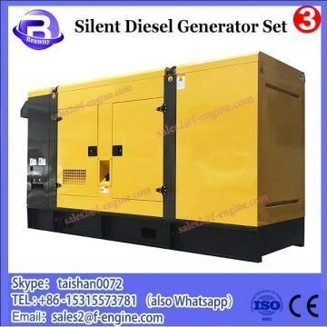 China HOT 10kw silent two-cylinder air-cooled diesel generator set / lombardini engines diesel generators
