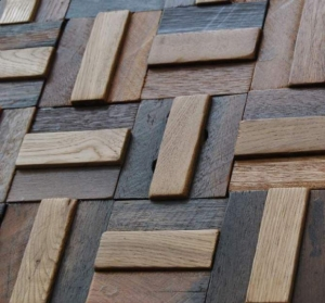 China Wood Wall Paneling 3D Decorative Wall Tiles on sale