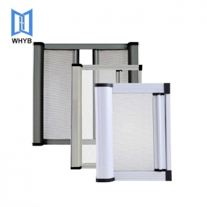China Aluminum retractable mosquito window screen on sale