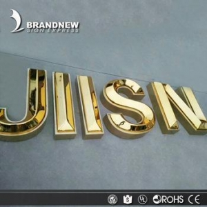 China OEM 3d plastic acrylic letters led channel letter sign on sale