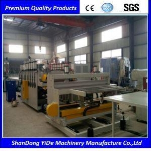 China WPC Extrusion Machine WPC Door Panel and Wall Board Manufcturing Machine on sale