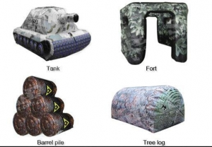 China Tactical Performance Paintball Bunkers on sale