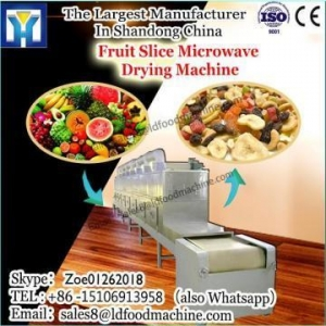 China Industrial tunnel type continuous meat microwave dehydration and sterilization equipment on sale