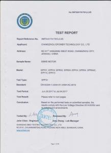 China EBIKE LVD TESTING REPORT on sale