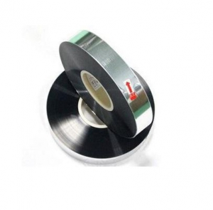 China plastic 5 micron 75mm capacitor used bopp metalized film cast polypropylene film on sale