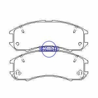 Suspension FORD USA PROBE MAZDA 626 II III Turbo MX-6 GT Brake pad FMSI:7288-D514