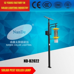 China Solar Insect Killer Lamp ND-B2022 on sale
