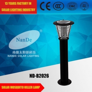 China Solar Mosquito Killer Lamp ND-B2026 on sale
