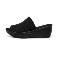 Thick - Lightweight PU Soles Woven Slippers