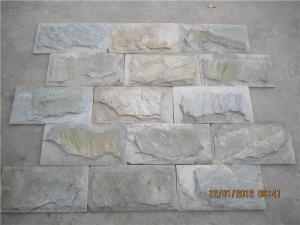 China Slate Bricks slate brick wall on sale