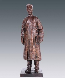 China Artist Artwork Bronze Sculpture on sale