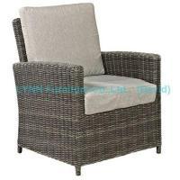 China Outdoor Sofa Balcony Rattan Armchair with Cushion Garden Furniture on sale