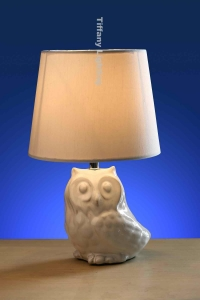 China LAMP BASE CRT183001 fabric lamp owl lamp base on sale
