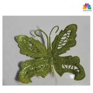 China Butterfly Shape Artificial Decor Flower For Christmas on sale