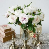 China Artificial Flower Peony For Decoration on sale