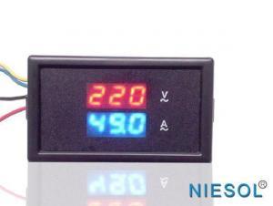 China 85DM Series Digital Voltmeter 85DM-50V DC Red Digital Voltmeter on sale