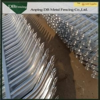 Decorative Wrought Iron Steel Metal Fence Panels