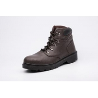 China black leather Breathable working shoes safety shoes security boots on sale