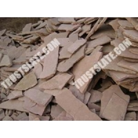 Castle Stone Paver Red Sandstone Prices For Court Yard Flag Stone Paving