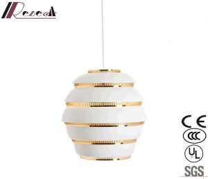 China New Design Modern Outdoor Retro White Geometric Pendant Lighting with Bedroom on sale
