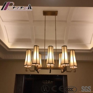 China Modern Indoor Decorative Antique Brass Chandeliers Pendant Lights for Living Room on sale