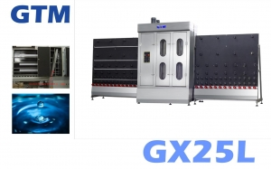 China GX25L Glass Vertical Washing Machine on sale