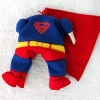 China Superman Pet Costume for sale