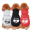 China Sunglasses Dog Pringting Dog Hoodie for sale