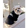 China Security Pattern Dog Hoodie for sale