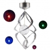 China Crystal Ball Color Changing Solar LED Light for sale