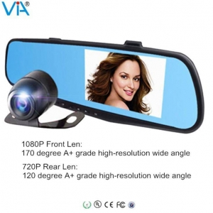 China Android App Control Car Smart Rearview Mirror on sale
