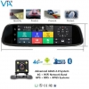 China Android ADAS Smart Rearview Mirror 4G Car DVR for sale