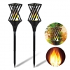 China Solar Powered Flame Effect Garden Lamp for sale