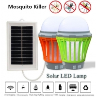 IPX6 Waterproof Solar Mosquito Killer Camping Lamp