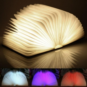 China Magnet Foldable 4 Color Book Lamp on sale
