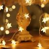 China Battery Powered Star Shape LED Fairy Light for sale
