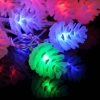 China Pinecone Waterproof Colorful LED Fairy Light for sale