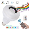 China LED Bulb Wireless Music Speaker Color Changing Smart Bulb for sale