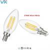 China LED Bulb E12 Base LED Crystal Candle Bulb for sale