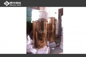 China Mirror rose gold stainless steel accessories on sale