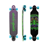 sports equipments Sintai Freeriding Drop Through Longboard skateboard