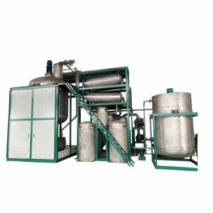 China Multi-function great popularity used motor oil recycling to diesel oil refining equipment on sale