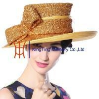 China Organza hats Product New Sinamay Hat MM-0067 on sale