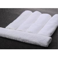 100 Percent Cotton Towel Hotel Bath Mats Square / Oval Shape Non Slip